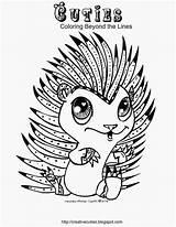 Coloring Cuties Hedgehog Cutie Creative Adult Colouring Animal Alphabet Printable Zenias Disney Animals Pet Adults January Littlest Google Sheets Hedgehogs sketch template