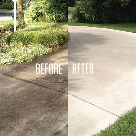 driveway cleaning ta pressure washing
