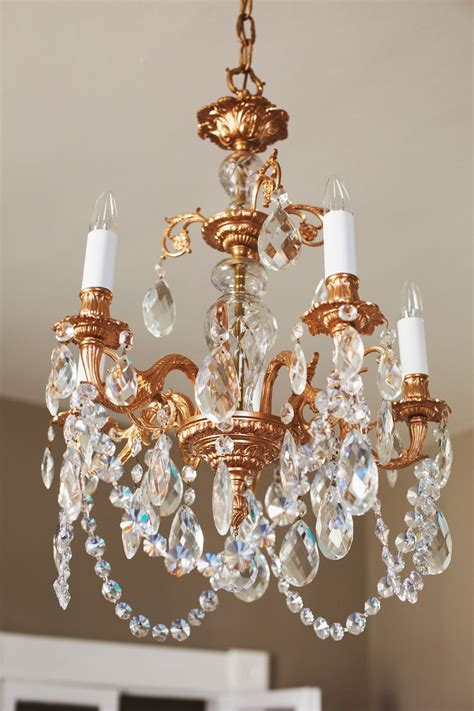 restyled copper chandelier  beautiful mess