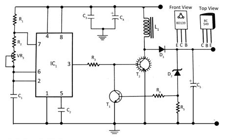 dc to dc converter electronics project