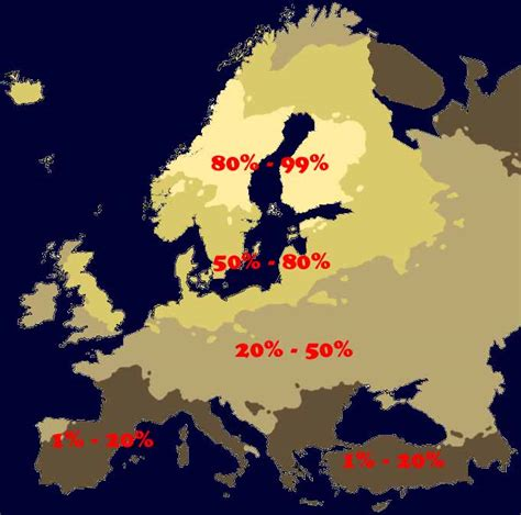 What Percent Of The World Has Hair And Blue by City 99 Blond Population