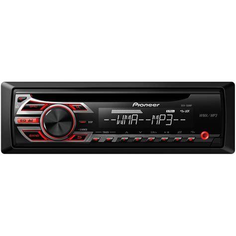 pioneer deh mp cd mp wma car stereo receiver  aux