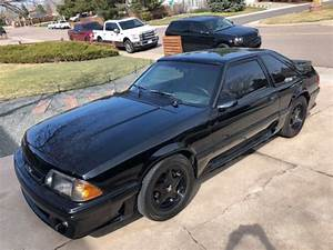 1993 Mustang GT Black/Black Heads/Cam/Turbo for sale: photos, technical specifications, description