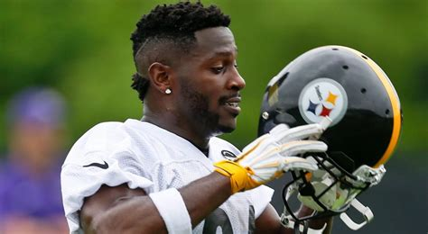 steelers wr antonio brown named latest madden cover