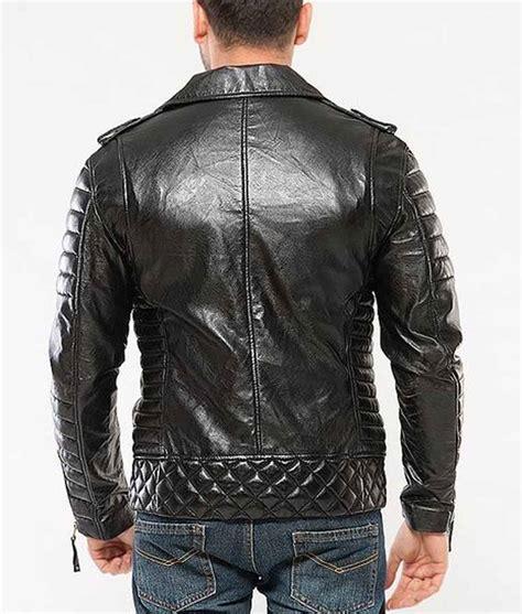 padded leather motorcycle jacket black padded classic motorcycle mens leather jacket usa