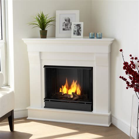 real flame chateau corner gel fuel fireplace reviews