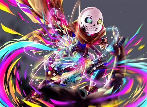 Glide Across Universes [ink!sans Fanart]
