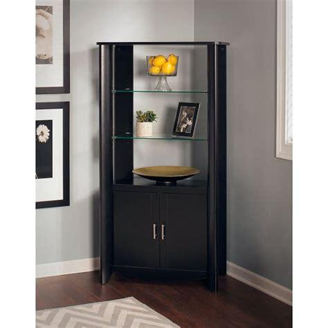 black curio cabinet black corner curio cabinet for modern and versatile room