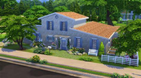 cuisine familiale provençal sims 4 telechargement cc maison