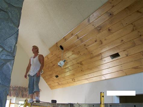 Kitchen Floor Designs Ideas - gentry 39 s home improvements tongue and groove pine wood ceiling