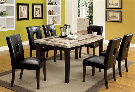 marble breakfast table sets lisbon marble top dining table set