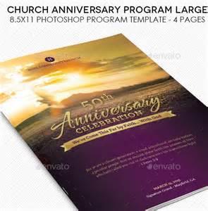 Church Anniversary Service Program Templates