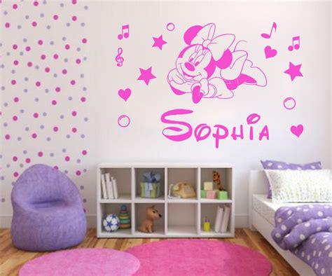 chambre bébé minnie minnie mouse décoration de chambre pour bébé