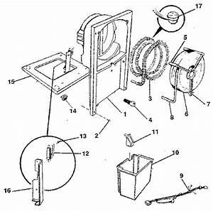 Condenser And Evaporator Diagram  U0026 Parts List For Model