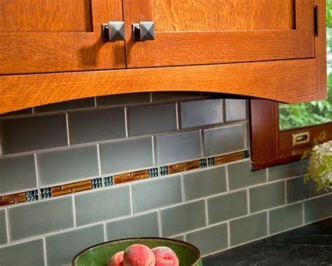 Arts And Crafts Backsplash Home Design Ideas, Pictures