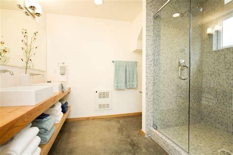 concrete bathroom flooring pros  cons
