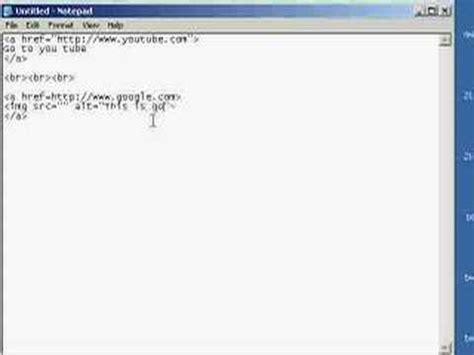 How Make Hyperlink Clickable Link Image Html