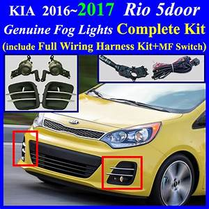 Fog Light Lamp Complete Kit   Wiring Harness Kit For Hyundai Kia Vehicle  2016