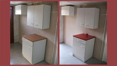 comptoir de la cuisine repeindre ses meubles de cuisine