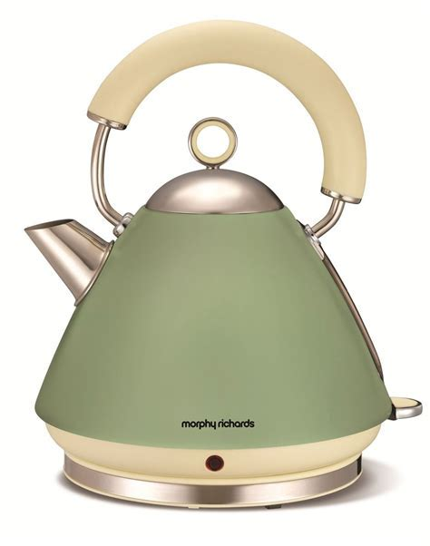 Morphy Richards 102001 Accents Green kettle   1.5L