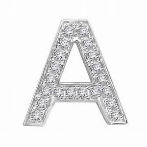 Hand crafted fine jewellery sydney diamond letter 39a for Diamond letter a
