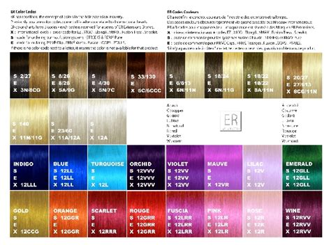 Hair Color Code by Er Extensions Human Hair Color Ring