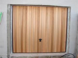 Porte de garage coulissante bois meilleures images d for Porte de garage en bois