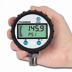 Omega Introduces General Purpose Digital Pressure Gauge