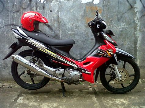Modifikasi Motor Smash 2005 by Suzuki Smash Modifikasi Racing Thecitycyclist