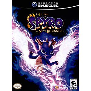 legend  spyro   beginning gamecube game