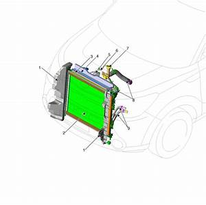 Kia Soul  Components Location - Cooling System