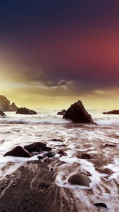 Iphone Ocean Wave Beach Nature Owen Flare