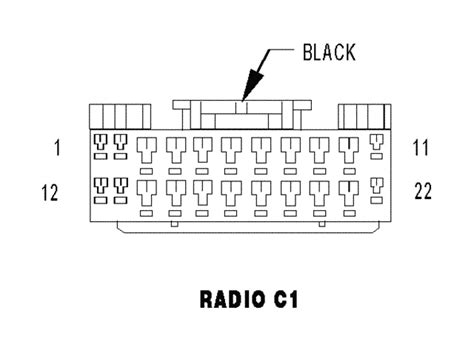 trying to install fractory radio plug in a 2006 ram 1500 need to know which wire goes to which