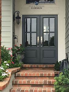 16, Best, Exterior, Door, Color, For, Dark, Gray, House, With, White, Trim