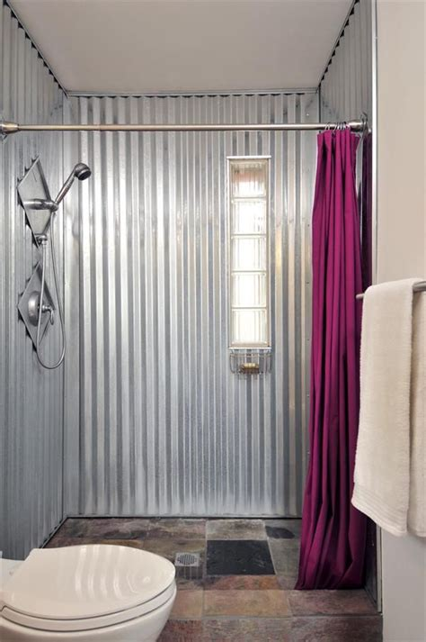 There are 202 corrugated metal panels. corrugated metal wall panels   http://www.builderonline.com/Images/7%20Praxis%20bath_tcm10 ...
