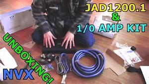 Nvx Jad1200 1 Bass Amp  U0026 1  0 Gauge Xapk1d Amplifier Wiring