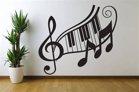 G Clef Home Decor : 20 Best Ideas Of Music Note Wall Art