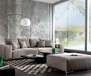 Moderne Kissen Für Sofa : big sofa marbeya 285x115 hellgrau couch mit hocker m bel sofas big sofas ~ Bigdaddyawards.com Haus und Dekorationen