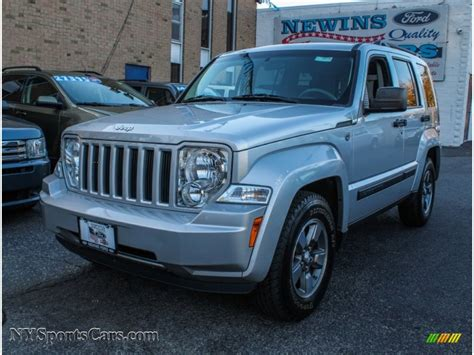 Newins Ford by 2008 Jeep Liberty Sport 4x4 In Light Graystone Pearl Photo
