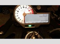 How to adjust the RPM shift light indicator on 2014 BMW