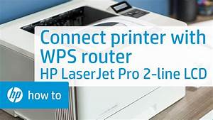 Connecting Installing An Hp Laserjet Pro 2 Line Lcd