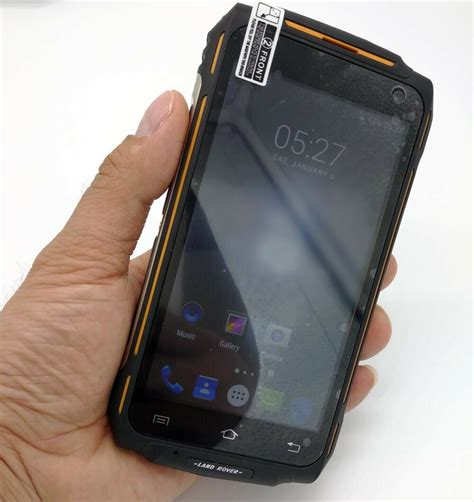 ip67 mobile uk 4g lte rugged smartphone land rover x2 android ip67