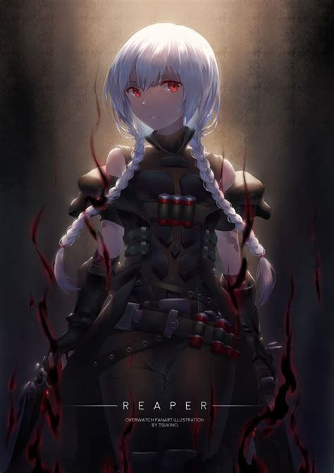 overwatch reaper gender bender anime