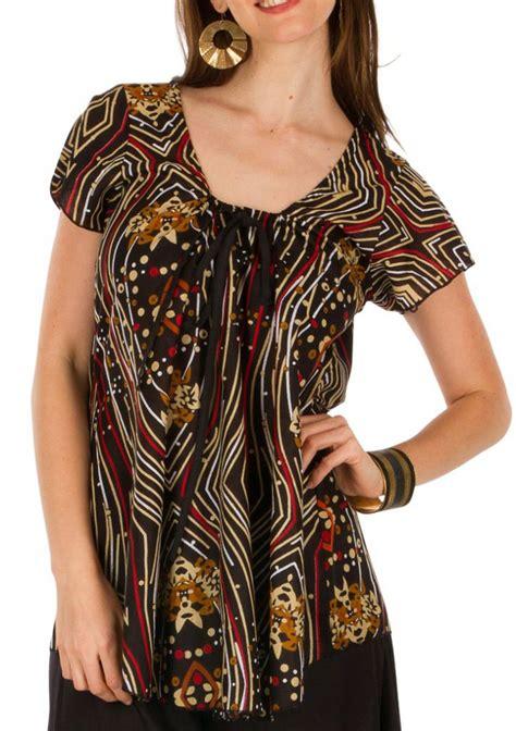 Tunique Africaine Femme Tunique Femme Africaine En Coton Pour L 233 T 233 Elina