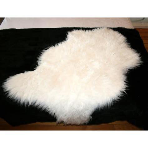 tapis poil blanc achat vente tapis poil blanc pas cher cdiscount
