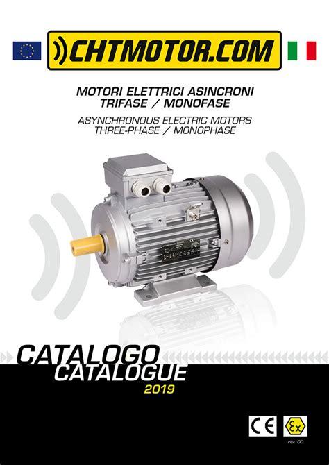 new electric motors catalogue chtmotor tecnica
