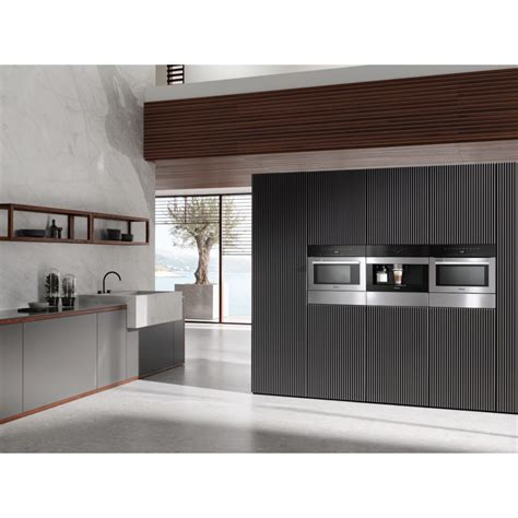 If spare parts or accessories from other manufacturers are used, the warranty will be invalidated, and miele cannot accept liability. Miele CVA7440 CLST Clean Steel Built-in Coffee Machine - Cooks & Company