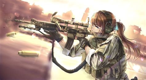 Anime Weapon Wallpaper - tc1995 anime weapon rifles