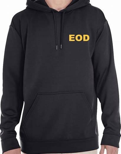 Hooded Hdt Left Sweatshirt Performance Chest