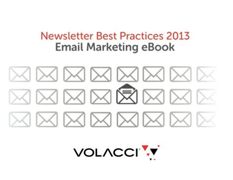 Newsletter Best Practices 2013 Email Marketing Ebook
